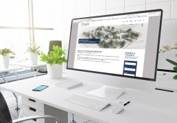 Corby land and compensation experts website design