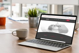 Website design for S. C. Agency