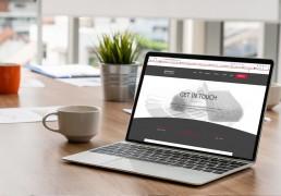 Website design for S. C. Agency